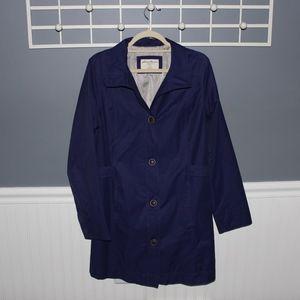 Long Purple Rain Coat